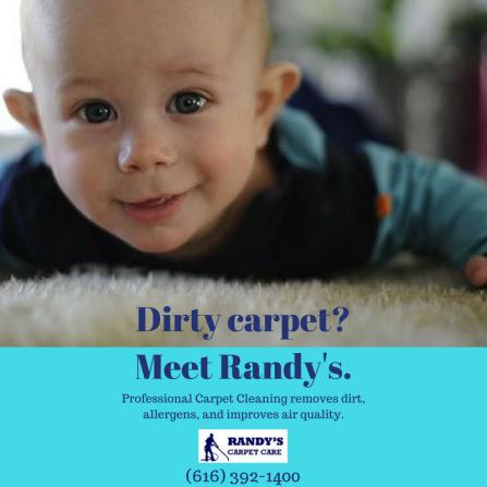 Dirty carpet_Meet Randy's.